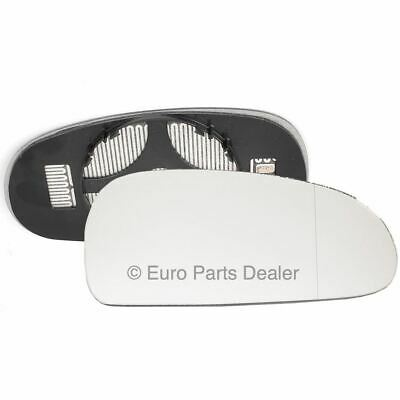 Driver Side WIDE ANGLE HEATED WING DOOR MIRROR GLASS Seat Leon MK2 05-08 Clip On