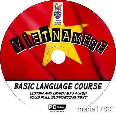 Learn To Speak Vietnamese Language Pccd Course Beginners Program Mp3 + Text New