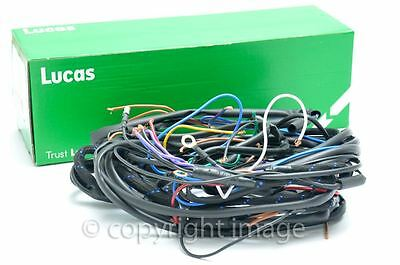 BSA A7 A10 Swinging Arm Main Wiring Harness 1957+, Genuine Lucas