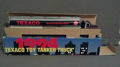 1994  (1) Texaco Toy Tanker Truck Very Excellent In Box