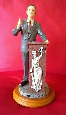 Lawyer Attorney Vanmark Figurine The Argument Edition 2/0258 Defenders Justice