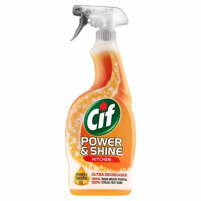 CIF POWER & SHINE KITCHEN SPRAY 6 x 700ml