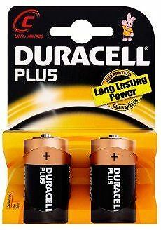 Duracell Plus C Size Battery 20 Pk