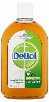 DETTOL  ANTISEPTIC LIQUID 6x 500ML