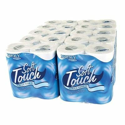 NICKY SOFT TOUCH TOILET TISSUE 5x 16 rolls (80)