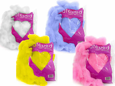 Petlife Safebed Fluff Bedding Nesting Hamsters Gerbils Mice Rats Guinea Pigs