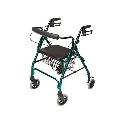 "Lumex Walkabout Lite Rollator - 6 COLOR CHOICES - For User Height: 5'4""- 6'0"""