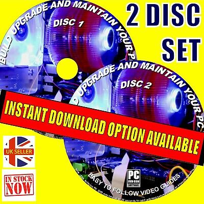 'how To Build & Repair A Pc Computer' Dvd Step By Step Video Guides New Pc Dvd