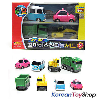 The Little Bus TAYO Friends Special 4 pcs Set V.2 Toy Bongbong Heart Max Poco