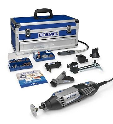 Dremel F0134000KF 4000-6/128 4000 Platinum Kit (6 Attachments + 128 Accessories)