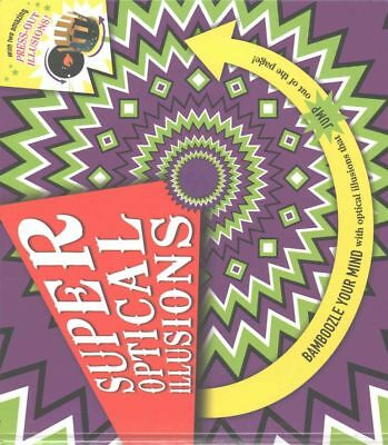 Super Optical Illusions by Gianni A. Sarcone Hardcover Book