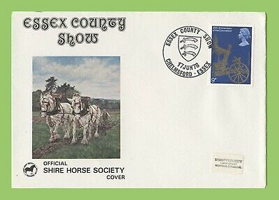 GB 1978 Commemorative Cover Special Cancel Essex County Show Chelmsford