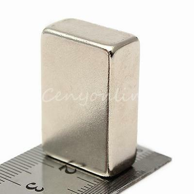 Large Strong Block Cuboid Rare Earth Neodymium Magnets 30mm x 20mm x 10mm N50