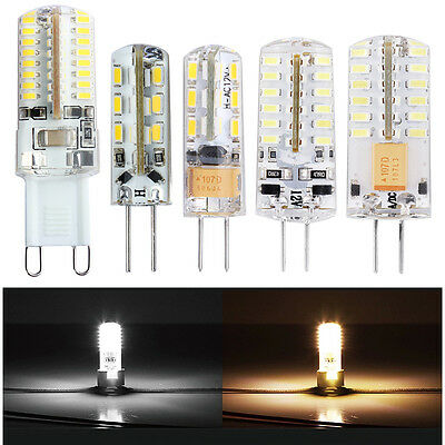 10x G4 G9 LED Ampoule lampe 1.5W 2W 3W SMD 3014 AC DC 12V Blanc chaud et froid