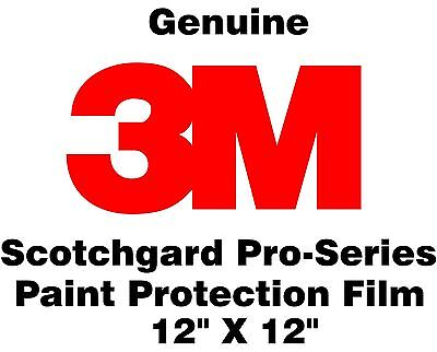 "Genuine 3M Scotchgard Pro Series Paint Protection Film Clear Bra Roll 12"" x 12"""