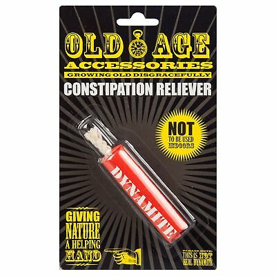 Old Age Constipation Reliever Quick Fast Acting Funny Prank Gift for Elderly