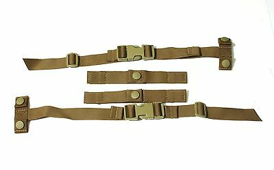 8 Kits Eagle Industries SPC scalable plate carrier strap kit molle vest Coyote B