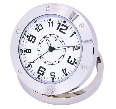 Table Clock Watch Camera Mini DVR Hidden Cam Camcorder Remote Motion Detection T