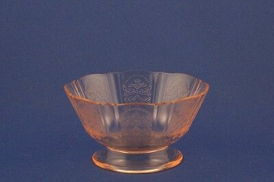 Vintage MacBeth-Evans Glass Company Pink American Sweetheart Small Size Sherbet