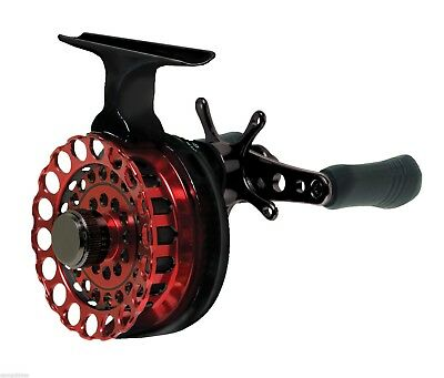 Eagle Claw Premium Inline Ice Reel 5 Bb Star Drag Aluminum Spool Eciliras
