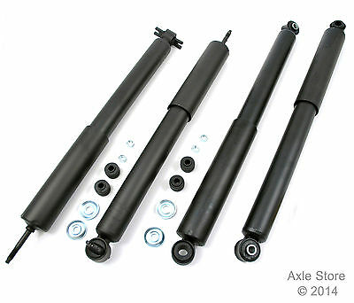 4 New Shocks FULL Set Ltd Lifetime Warranty Free Shipping 2WD Models Only #40019