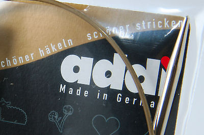 "One Pair of addi Premium Circular Knitting Needle 40cm (16"")"