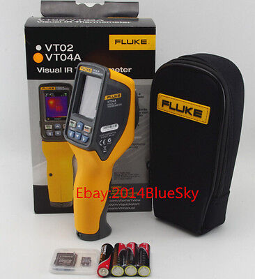 NEW Fluke VT04A Visual IR Thermometer / Infrared Thermal Camera !!NEW
