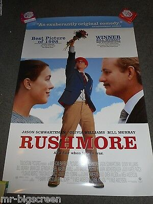 Rushmore- Original Ds Rolled Poster - Rare Style