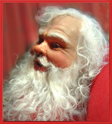 SANTA MOLD SET + 2 hour DVD INSTRUCTIONS FOR POLYMER CLAY by Patricia Rose