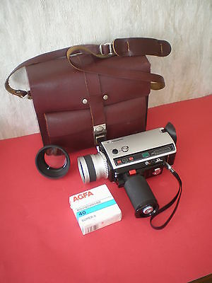 Movie camera Cosina Professional 768 Macro Super 8 with lens Cosinon 1.7/8-64mm