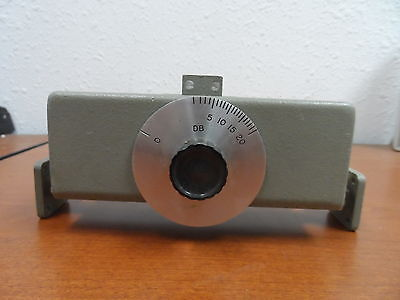 Vintage Hp Model P375A Variable Attenuator