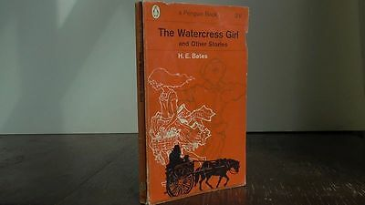 "Vintage Penguin book #1918 ""The Watercress Girl and Other Stories"" H.E. Bates"