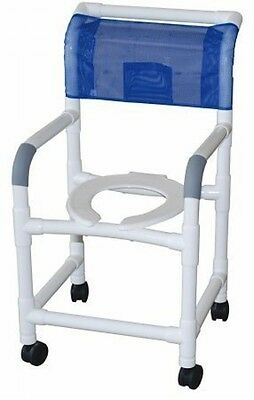 MJM Standard Deluxe PVC Shower Commode Chair!
