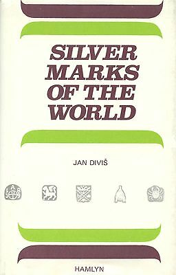 2,000+  Silver Symbols Marks Hallmarks of the World / Scarce Illustrated Book