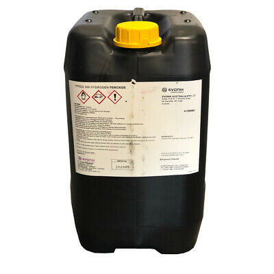 Hydrogen Peroxide for pools & spas 20L. Spa Chemical.