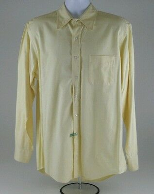 Vintage L.L. Bean Men's Long Sleeve Button Down 16 1/2 -36 Shirt Made In USA