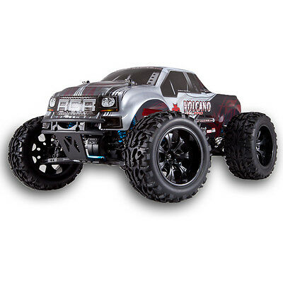 Redcat Racing Volcano EPX Pro 4x4 1/10 Brushless Truck 2.4Ghz RTR Silver Red