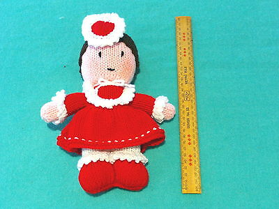 """CHRISTMAS GIFTS IDEAS - Knitted Toys - Kids Play Friends - """"Vikki Valentine""""."""