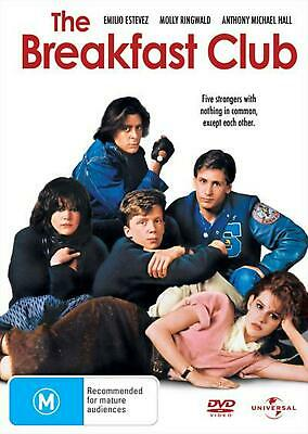 The Breakfast Club - DVD Region 2 Free Shipping!