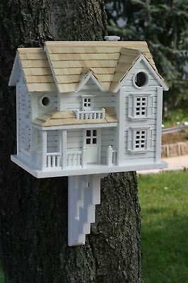 Wild Bird Nesting Box/Birdhouse Kingsgate Cottage Design in White