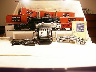 (B43)  Lionel Set 1425B  Switcher Freight  with 1656 Engine & Bell Ringer Tender