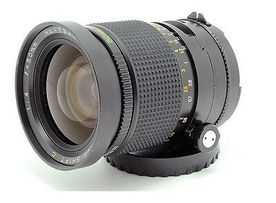 Rare -- Mamiya Sekor C 50mm f/4 Shift for 645 Excellent ! from Japan
