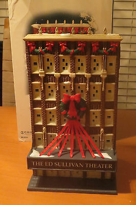 Department 56 Christmas in the City Series - THE ED SULLIVAN THEATER
