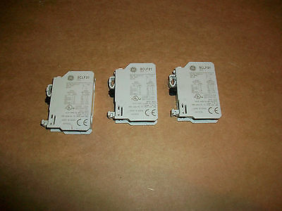 3pc GE Contactor Auxillary Contacts  BCLF01