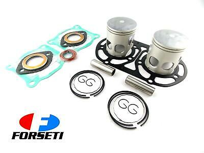 YAMAHA RD350 RZ350 YPVS 84-86 0.5mm O/S TOP END KIT 64.5mm PISTON GASKET SET