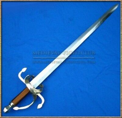Swept Basket Hilt Sword Brass Copper German Cavalry