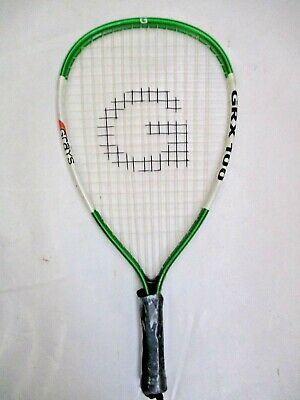 Warehouse Clearance Alloy Racquetball Racquet With Minor Paint Chips.