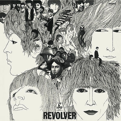 The Beatles REVOLVER Mono Edition 180g REMASTERED New Sealed Vinyl LP