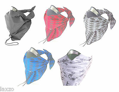 Respro Bandit Anti Pollution Bike Cycle Cotton Face Scarf Cycling Filter Scarf