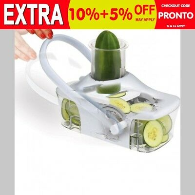 New Auto Matic Fruit Vegetable Cutter Slicer Processor Slice Kitchen Tool Gadget